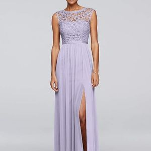 Lavender Dress - would make BEAUTIFUL Prom dress!
